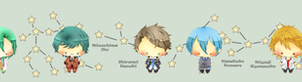 Starry Sky Chibis by trace-xing