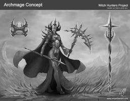 Witch Hunter - Archmage by LarryWilson