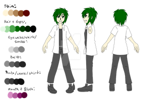 [ABDIWYD] Tomoya Fue School Uniform TAS + Profile by Cassyhattori63
