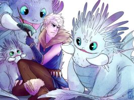 Can we has FEESH? (Viking!Jack Frost) by KT-ExReplica