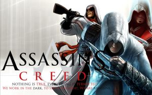 Assassins creed wallpaper 2 by ilikepie-123