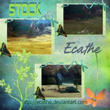 Underwater pack stock by Ecathe