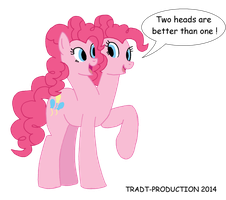 AT - Double Pinkie pie by TRADT-PRODUCTION