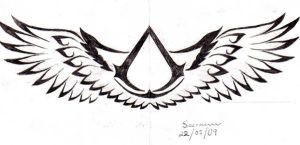 Altair tattoo symbol v2 by Saera-Song