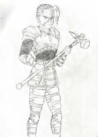 Charlie the Shadow Warrior by JB4C