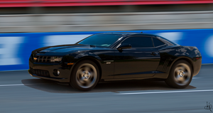 My Camaro 2SS At the Track2 by Steve38