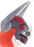 Hollow Ichigo by Sympathy2Devil