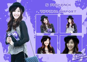 SNSD TIFFANY AIRPORT PNG PACK by yohanesArt