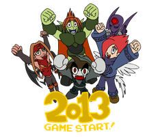 TOME: 2013 Game Start by Kirbopher15