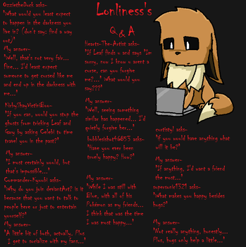 Lonliness's Q and A Page 17 by lonlinessplz