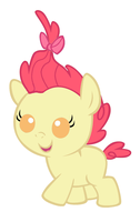 Baby Apple Bloom by MarianHawke