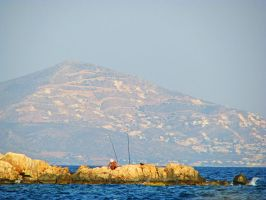 Fisherman by Meljona