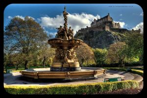 The Fountain And The Castle by GaryTaffinder