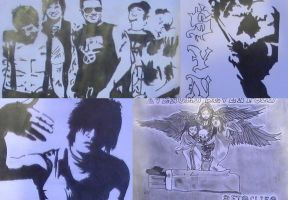 All of my A7x-drawings by A7xM97