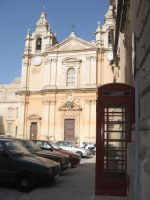Church in Malta by pink-spike