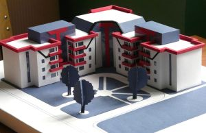 layout of residential building by Sveeeta