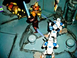 Underground Siege at Coruscant by MsComicStar86