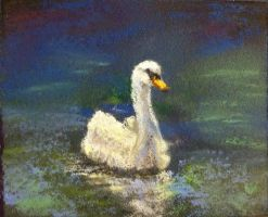 Swan lake MINIATURE by peeched