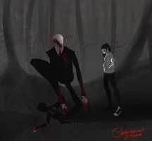 .:Hey Slender:. by tmntffnyp