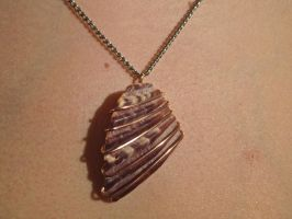 Shell Necklace by sing2mi