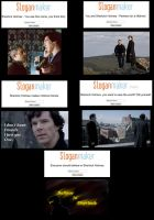 sherlock slogans by hpwolffreak