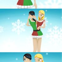 Merry Christmas! (Conjoined twins animation) by fgg22
