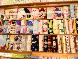 a colorful towel shop (3) by yukino-k