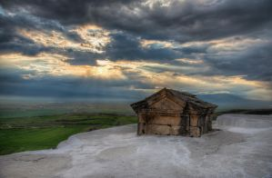 Tomb  in Pamukkale by roman-gp