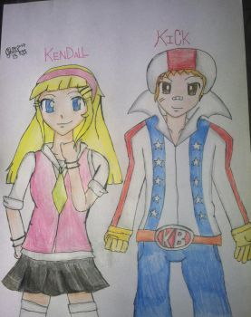 [REQUEST] Kick B. and Kendall P. (18 y/o) by Trexe13