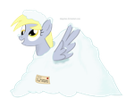 Derpy Snooves - Snowy Hooves: Derpy Hooves in Snow by DiegoTan