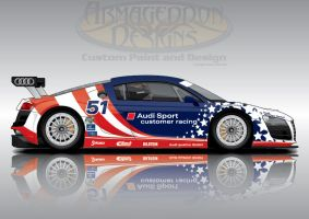Star Spangled Audi by ArmageddonDesigns