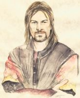 LOTR boromir by morgansartworld