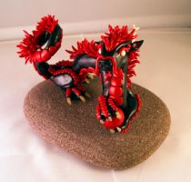 Eastern Dragon Glazed by LittleDragonDesigns