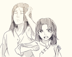 They have stolen our headband, right Neji? by nikky93
