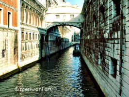 The Canal View - Venice, Italy 120309 by meriwani