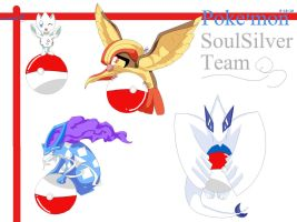 SoulSilver Team by crazy-love2draw