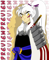 Preview: DiF Inuyasha Vector by DemitriaMiriam