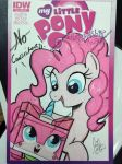 Pinkie meet Unikitty by PonyGoddess