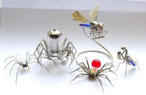 Mechanical Clockwork Arthropods February 2014 by AMechanicalMind