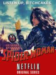 Spider-Woman poster by nottonyharrison