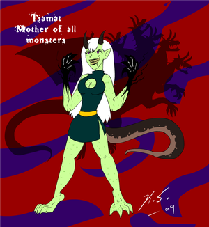 Tiamat, mother of all monsters