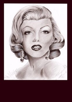Marilyn by Lilypadfairy