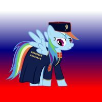Rainbow Dash Cossack uniform. by GennadyKalugina