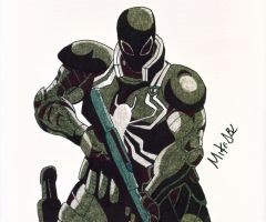 Agent Venom by MikeES