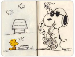 SnOopy by Insanemoe
