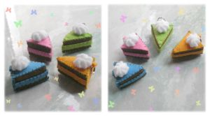 colorful cake plushies by jenyah