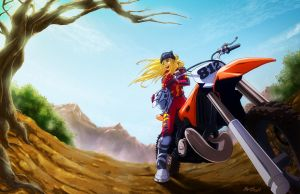 Nice Day For A Ride by tiffa