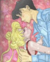 :::Usagi and Mamoru CG::: by Leah-Chan