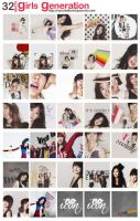 icon pack 07 - SNSD by Byakushirie