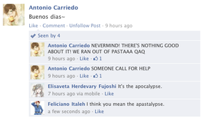 Hetalia Facebook: The Apocalypse by gilxoz-epicness